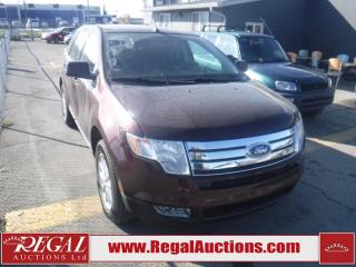 Used 2010 Ford Edge SEL 4D Utility AWD for sale in Calgary, AB