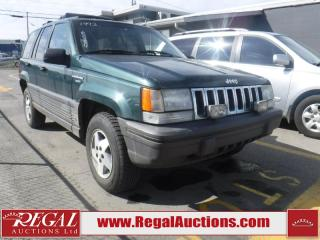 Used 1993 Jeep GRAND CHEROKEE  4D UTLITY 2WD for sale in Calgary, AB