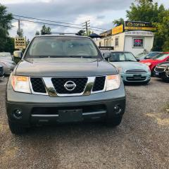 Used 2005 Nissan Pathfinder SE - 4x4 DVD 7 PASSENGER for sale in Toronto, ON