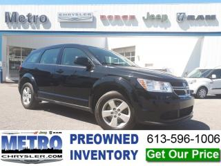 Used 2014 Dodge Journey CVP - LOW KMs! for sale in Ottawa, ON
