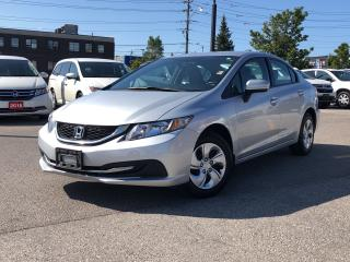 Used 2015 Honda Civic LX, one owner, excellent price for sale in Toronto, ON