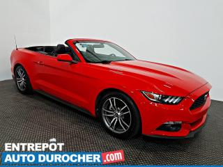 Used 2016 Ford Mustang EcoBoost Premium DÉCAPOTABLE Automatique - A/C - for sale in Laval, QC