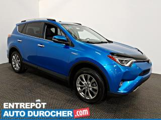 Used 2016 Toyota RAV4 Hybrid Limited AWD NAVIGATION  TOIT OUVRANT - A/C - Cuir for sale in Laval, QC