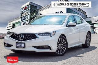 Used 2018 Acura TLX 3.5L SH-AWD w/Elite Pkg No Accident| 360 Camera for sale in Thornhill, ON