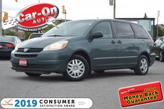 Used 2004 Toyota Sienna CE 8 Passenger DUAL CLIMATE CRUISE POWER GROUP for sale in Ottawa, ON
