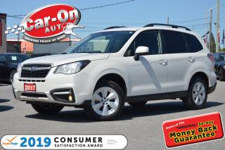 Used 2017 Subaru Forester 2.5i Convenience AWD REAR CAM HTD SEATS LOADED for sale in Ottawa, ON