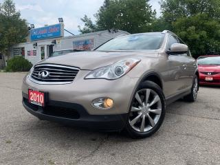 Used 2010 Infiniti EX35 AWD 4dr * LOW KMS|ACCIDENT free, push start, sunroof for sale in Brampton, ON