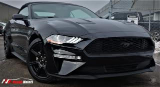 Used 2018 Ford Mustang EcoBoost Convertible FULLY LOADED w/NAVI/REAR CAMERA for sale in Brampton, ON