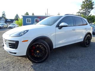 Used 2015 Porsche Cayenne Turbo Fully Loaded No Accident Certified for sale in Guelph, ON
