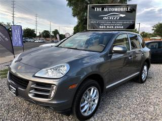 Used 2008 Porsche Cayenne S NAVI BACK-UP CAM NO ACCIDENT for sale in Mississauga, ON