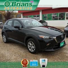 Used 2019 Mazda CX-3 GS w/Mfg Warranty, AWD, Leather, Backup Camera, Heated Seats for sale in Saskatoon, SK