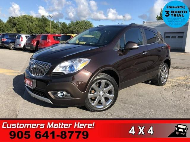 2016 Buick Encore Leather  AWD NAV ROOF CAM BS HS P/SEAT