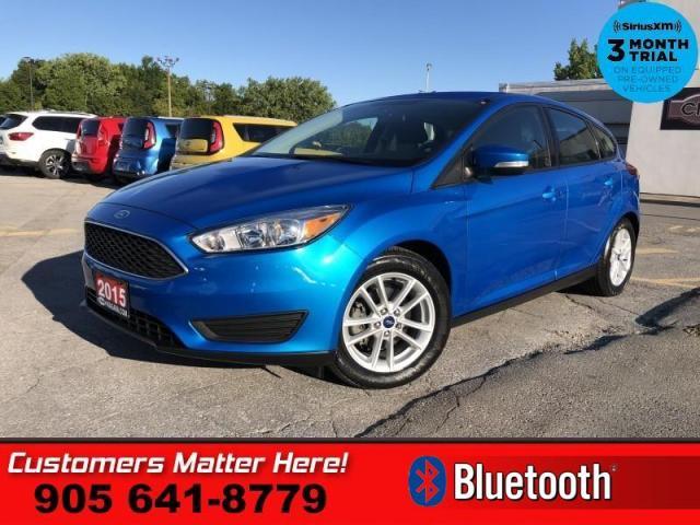 2015 Ford Focus SE  B/U-CAM BLUETOOTH ALLOYS AUTO