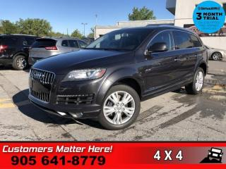 Used 2012 Audi Q7 3.0 quattro TDI Premium  DIESEL LEATH ROOF CAM for sale in St. Catharines, ON