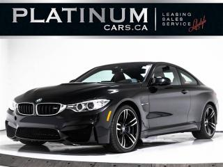 Used 2016 BMW M4 425 HP, NAVI, SUNROOF, CAM, RED Heated Leather for sale in Toronto, ON