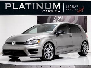 Used 2017 Volkswagen Golf R 4MOTION, NAVI, CAM, APP CONNECT, Heated Seats for sale in Toronto, ON