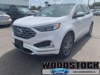 Used 2019 Ford Edge Titanium AWD  EVASIVE STEERING ASSIST for sale in Woodstock, ON