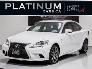 Used 2015 Lexus IS 350 306HP AWD, F-SPORT, NAVI, CAM, Blindspot for sale in Toronto, ON