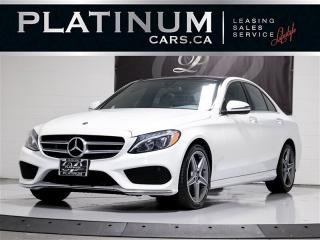 Used 2018 Mercedes-Benz C 300 4MATIC AWD, NAVI, PANO, CAM, PUSH BTN for sale in Toronto, ON