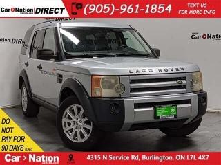 Used 2007 Land Rover LR3 V8 SE| AS-TRADED| 4X4| SUNROOF| for sale in Burlington, ON