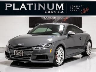 Used 2016 Audi TTS 2.0T Quattro AWD, Digital DASH, Fully LOADED, Apps TTS for sale in Toronto, ON