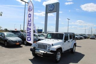 Used 2015 Jeep Wrangler Unlimited Sahara for sale in Whitby, ON