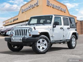 Used 2012 Jeep Wrangler Unlimited - Low Mileage - $286 B/W - $286 B/W - $286 B/W - $  - $286 B/W for sale in Brantford, ON