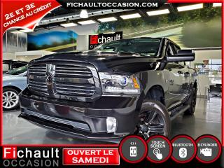 Used 2017 RAM 1500 SPORT Cabine quad 4RM, Sport for sale in Châteauguay, QC