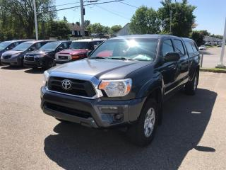 Used 2014 Toyota Tacoma Double Cab V6 4X4 for sale in Québec, QC