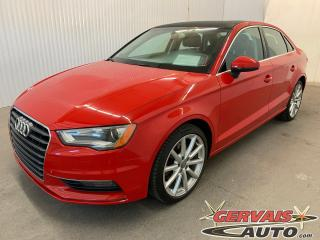 Used 2015 Audi A3 1.8T Progressiv Cuir Toit Ouvrant MAGS Bluetooth for sale in Shawinigan, QC