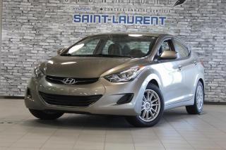 Used 2013 Hyundai Elantra GL*BAS KM*BLTHT*MAGS for sale in St-Laurent, QC