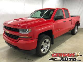 Used 2016 Chevrolet Silverado 1500 Custom 4x4 Double Cab MAGS for sale in Trois-Rivières, QC