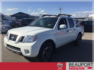 Used 2019 Nissan Frontier PRO-4X CREW CAB 4X4 ***CUIR / TOIT / NAV for sale in Beauport, QC