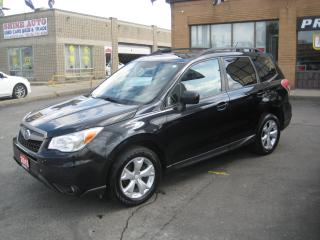 Used 2015 Subaru Forester ONE OWNER/R.CAMERA/SUNROOF/H.SEATS/COMING SOON!!! for sale in North York, ON