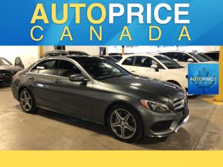 Used 2018 Mercedes-Benz C-Class SPORT PKG|NAVIGATION|PANROOF for sale in Mississauga, ON