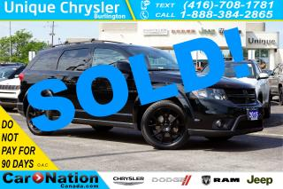 Used 2015 Dodge Journey SXT BLACKTOP| 7-SEATER| REAR CAM| BLUETOOTH & MORE for sale in Burlington, ON