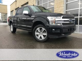 Used 2018 Ford F-150 Platinum ***PRICE REDUCED*** NO ACCIDENTS, 3.5L V6, NAVIGATION, TECHNOLOGY PACKAGE for sale in Calgary, AB