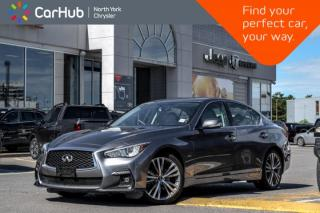 Used 2018 Infiniti Q50 3.0t LUXE|Sunroof|GPS|Bluetooth|Backup.Cam|Heat.Frnt.Seats|Keyless.Go| for sale in Thornhill, ON