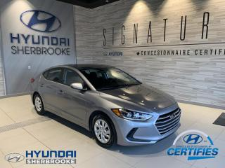 Used 2017 Hyundai Elantra L+A/C+BANCS CHAUFF+GRP ÉLECTRIQUE for sale in Sherbrooke, QC
