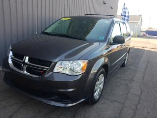 Used 2017 Dodge Grand Caravan CVP/SXT LOW KMS | STOW N GO | ACCIDENT FREE for sale in Charlottetown, PE
