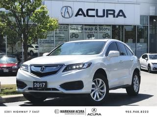 Used 2017 Acura RDX Tech at AWD, Navi, Blind Spot Info for sale in Markham, ON