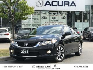 Used 2015 Honda Accord Coupe L4 EX-L Navi CVT LaneWatch Cam, Lane Dep Warning, Fog Lights for sale in Markham, ON