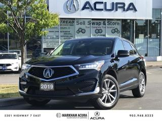 Used 2019 Acura RDX Elite at Navi, Pano Roof, Parking Sensors for sale in Markham, ON