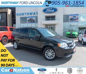 Used 2016 Dodge Grand Caravan SXT | BACKUP CAM | STOW N GO | REAR DVD | for sale in Brantford, ON