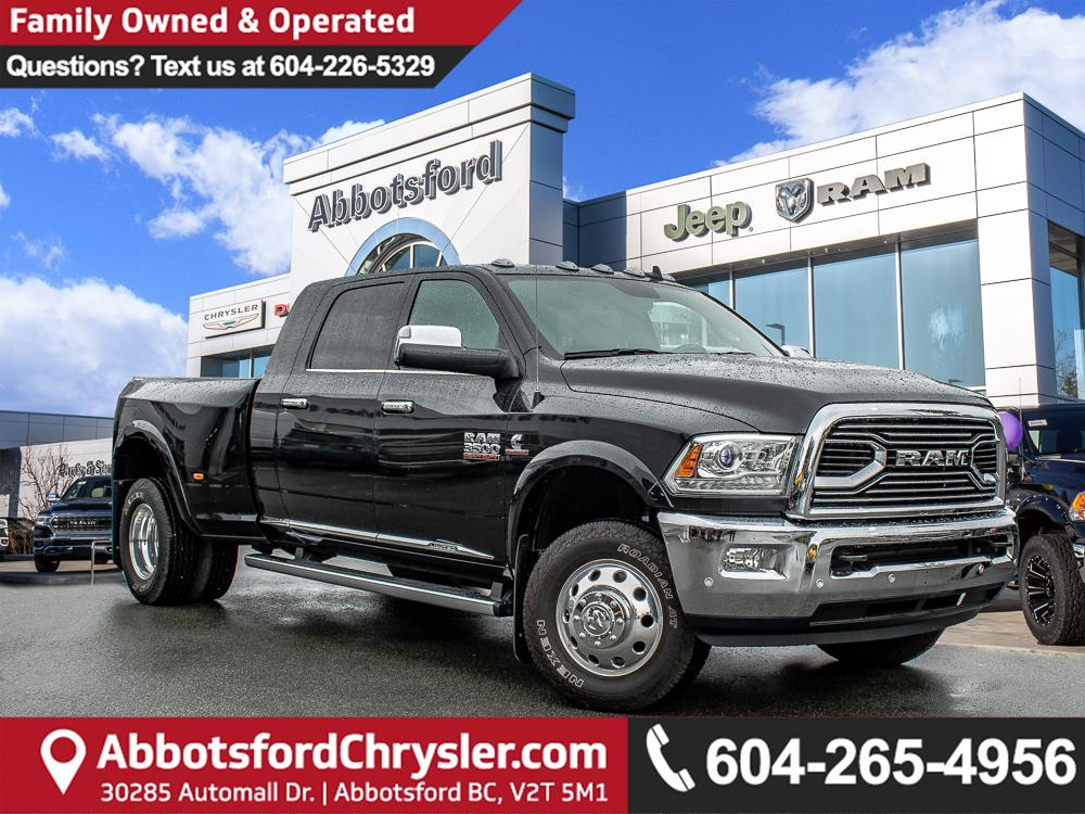 Used 2018 RAM 3500 Longhorn *ACCIDENT FREE* *LOCALLY DRIVEN
