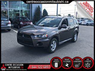 Used 2010 Mitsubishi Outlander ES AWC A/C GROUPE ELECTRIQUE for sale in St-Jérôme, QC