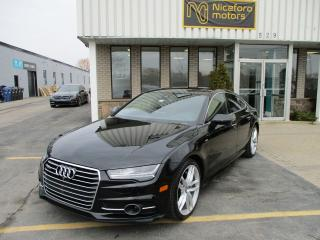 Used 2016 Audi A7 TDI S-LINE Technik 3.0 TDI Technik S LINE CLEAN CARPROOF!!! for sale in Oakville, ON