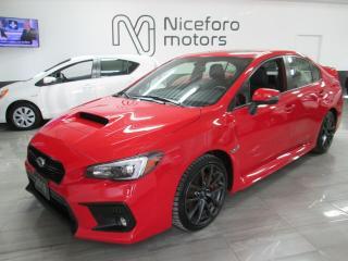 Used 2018 Subaru WRX Sport-tech - RECARO, NAVI, ROOF for sale in Oakville, ON