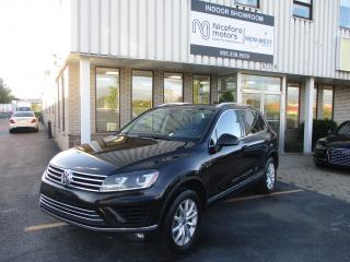 Used 2015 Volkswagen Touareg 3.6L Sportline for sale in Oakville, ON