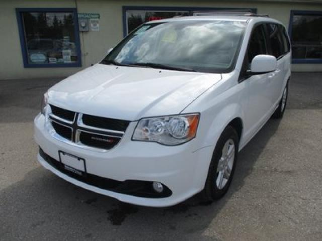 2018 Dodge Grand Caravan LOADED CREW MODEL 7 PASSENGER 3.6L - V6.. CAPTAINS.. STOW-N-GO.. NAVIGATION.. LEATHER.. HEATED SEATS.. BACK-UP CAMERA.. BLUETOOTH SYSTEM..